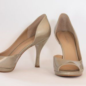 Via Spiga EUC Champagne Color Heels 7 1/2